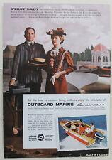 Outboard Marine Evinrude Outboard / Coke  1957  Magazine Print Ad 7 x 10