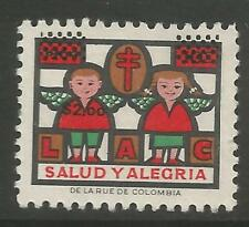 stamps-colombia 1964. Noël - $2.oo anti T.B.Charité Affiche timbre. inutilisé