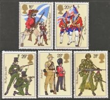 Gb Mnh Scott 1022-1026, 1983 issue, Soldiers, set of 5