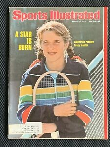 Vintage Sports Illustrated March 22, 1976  Tracy Austin A Star is Born
