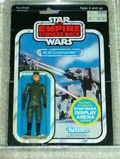 Vintage Star Wars 1981 Kenner CAS/AFA 75/85/90 AT-AT COMMANDER ESB BACK CARD MOC