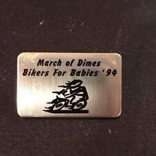 March of Dimes Bikers for Babies 1994 Pin