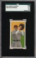 Rare 1909-11 T206 Jim Stephens Sweet Caporal 350 St Louis SGC 70 / 5.5 EX+