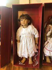Vintage Annette Himstedt Liliane 2724 Faces Of Friendship Doll In Original Box
