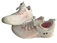 under armour hovr trainers size 7 Worn Once white pink