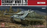 ModelCollect 1/72 UA-72069 WWII German E-75 Jagdpanther with 128/L55 Gun