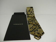 GIANNI VERSACE MEDUSA / Men's 100% SILK TIE nice unique color