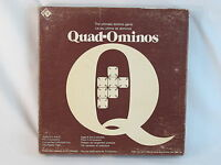 Quad-Ominos 1978 Domino Game Irwin Toy 100% Complete Bilingual Excellent @@