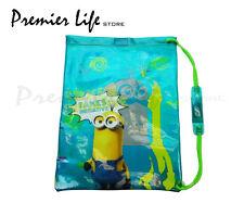 Minions Movie Despicable Me Drawstring Swim Bag