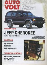 (5A) AUTO VOLT JEEP CHEROKEE Turbo Diesel 2068 cc Septembre 1991 n°670