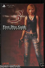 JAPAN Book The 3rd Birthday First Dive Guide (Parasite Eve