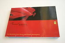 Ferrari Enzo owners manual instructieboekje uso e manutenzione betriebsanleitung