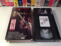 Mob War Rare Promo Screener Crime Action VHS '89 OOP Jake LaMotta Johnny Stumper