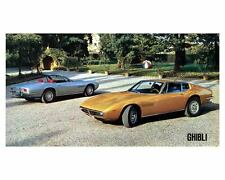 1970 Maserati Ghibli Automobile Photo Poster zc8865