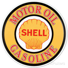 Shell Gas & Oil Tin Sign - 12x12