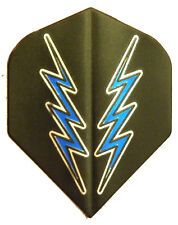 Dart Flights 5 Amerithon Black, Blue Lightning Std Sets