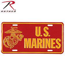Decorative U.S. Marines License Plate