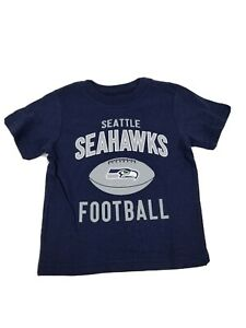 Seattle Seahawks NFL Toddler Navy Team T-Shirt, Size 18 Months to 24 months NWOT