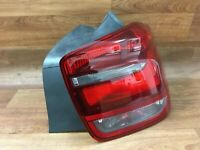 BMW 116d 1 Series F20 Driver side RH rear tail light lamp lens assembly