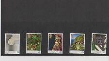 Set 5 GB Great Britain Stamps  The National Trust 1995 Mint in folder