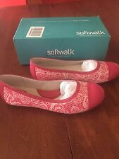 SOFTWALK NAPA - PINK ROSE 11M AWESOME BALLET FLATS - THE COLOR IS JUST AWESOME