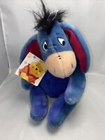 Disney Eeyore 11inch Plush Soft Toy Winnie The Pooh Plushie With Tag Collectable