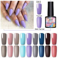 8ml Mad Muñeca Gel Nail Polish Soak Off colores puros gel Arte en Uñas UV Gel polaco