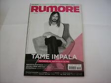 RUMORE RIVISTA #282/283 - TAME IMPALA - MARS VOLTA - AMORPHOUS ANDROGYNOUS