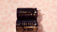 Black Gate FK series 100UF/16V electrolytic capacitor