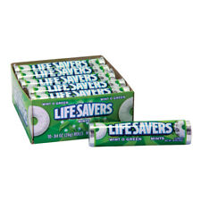 Lifesavers Wintergreen winter green Candy 10 rolls roll retro
