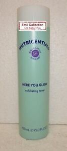 Nu Skin Nuskin Nutricentials Here You Glow Exfoliating Toner 5.0fl oz 150 ml New