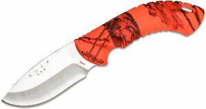 "Buck 392 Omni Hunter 12PT Fixed 4"" Blade Mossy Oak Blaze Camo Handles"