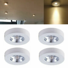 4x 5W LED Surface Mounted Ceiling Downlight Round Cabinet Mini Spotlight AC 230V
