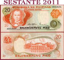 PHILIPPINES  -  FILIPPINE  -  20  PISO 1971  -  P 150   -  FDS / UNC