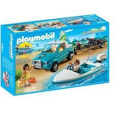 PLAYMOBIL 6864-Surfer PICK-UP CON MOTOSCAFO Play Set con action figure