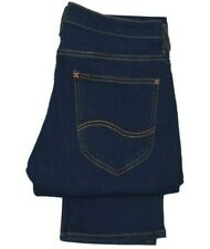 Mens Lee Daren regular slim straight stretch fit jeans Dark indigo SECONDS L269