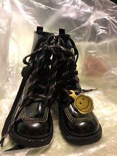 Kickers - Size 31 - Girls - Black - Leather - Brand New