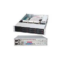 Supermicro 2U 12 Bay Server with Dual CPUs, 32GB RAM and RAID Controller