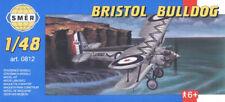 Bristol Bulldog, British biplane fighter (1/48 model kit, Smer 0812)