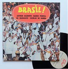 "LP 33T Various (Baden Powell, Astrud Gilberto,..)  ""Brasil !"" - (EX/CN)"