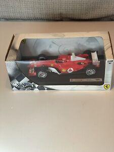 Hot Wheels B6– 1: 18 Scale Ferrari Michael Schumacher 2004, NEW
