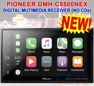 "PIONEER DMH-C5500NEX 8"" MODULAR MECHLESS DIGITAL MULTIMEDIA RECEIVER BLUETOOTH"