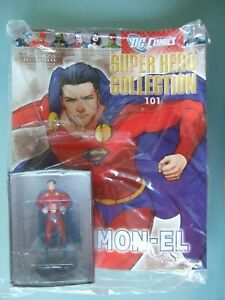 DC Comics Super Hero Collection Eaglemoss No.101 MON-EL, factory sealed.