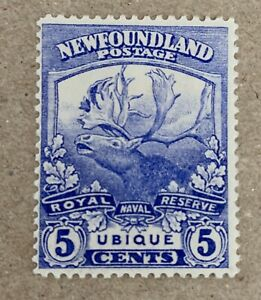 Newfoundland Sg 134  Lmm Cat £17
