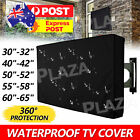 30-65 Inch Dustproof Waterproof TV Cover Outdoor Patio Flat Television Protector
