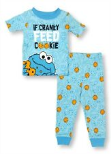 Sesame Street Cookie Monster Pajamas Shirt Pant PJ Set for Baby Boys 24 Months