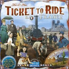 Days of Wonder: Ticket to Ride Map Collection 6 - France + Old West (New)