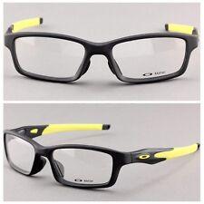 Sport Crosslink Eyeglass Rx Eyewear Frames Satin Black Matter yellow OX8027-0753