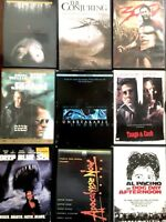 Lot 10 DVD Movies Horror Flicks Drama Scary Action Films Adventure Game Night