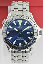 AUTHENTIC OMEGA SEAMASTER PROFESSIONAL  2065.80 LARGE BOND ELECTRIC BLUE WATCH